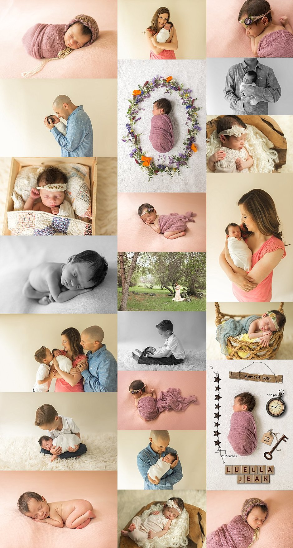 grass valley newborn photographer